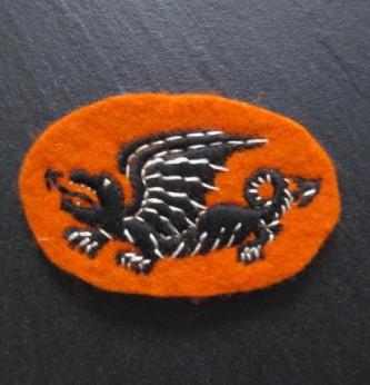 WWII 16th Polish Armoured Brigade Arm Badge – Item 86746